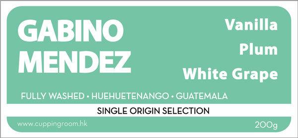 Gabino Mendez - Guatemala - The Cupping Room